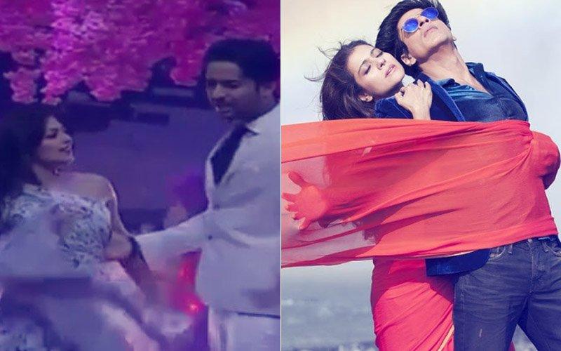 Shaheer Sheikh-Drashti Dhami Recreate Shah Rukh Khan & Kajol's Gerua Magic