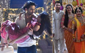 Yeh Rishtey Hain Pyaar Ke: Shaheer Sheikh And Rhea Sharma's Pictures From Kunal and Kuhu's Haldi Ceremony Are Out