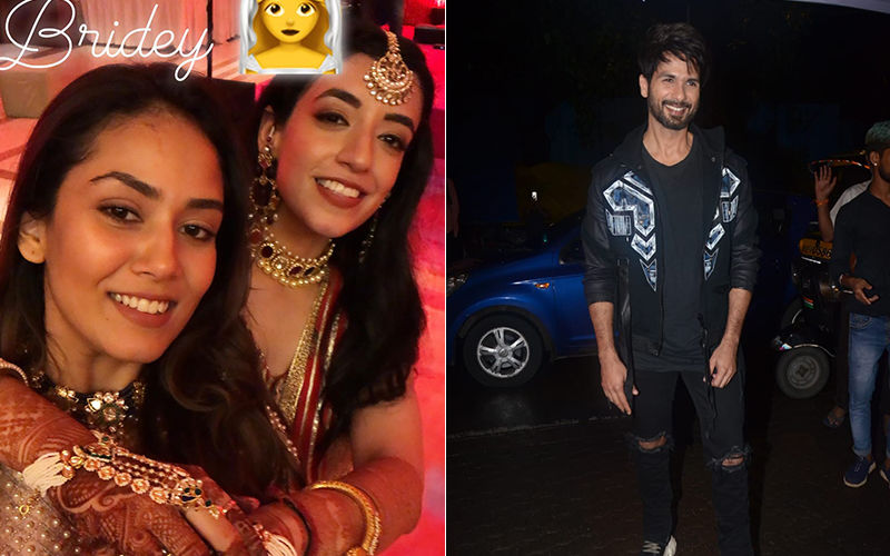 As Shahid Kapoor Celebrates Kabir Singh Success Bash, Mira Rajput Attends A Friend's Wedding Wearing A Gorgeous Lehenga - View Pics