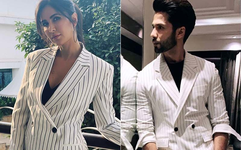 Katrina-Shahid Twin In Exact Same Pantsuit; Kapoor Thanks Bharat Actress!