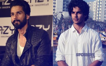 Guess Why Is Shahid Kapoor Unhappy With Brother Ishaan Khattar?