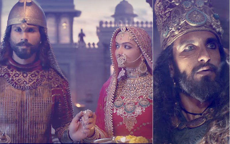 PADMAVATI TROUBLE: Protests Break Out In Mumbai & Surat To Condemn Ranveer-Deepika-Shahid's Period Drama