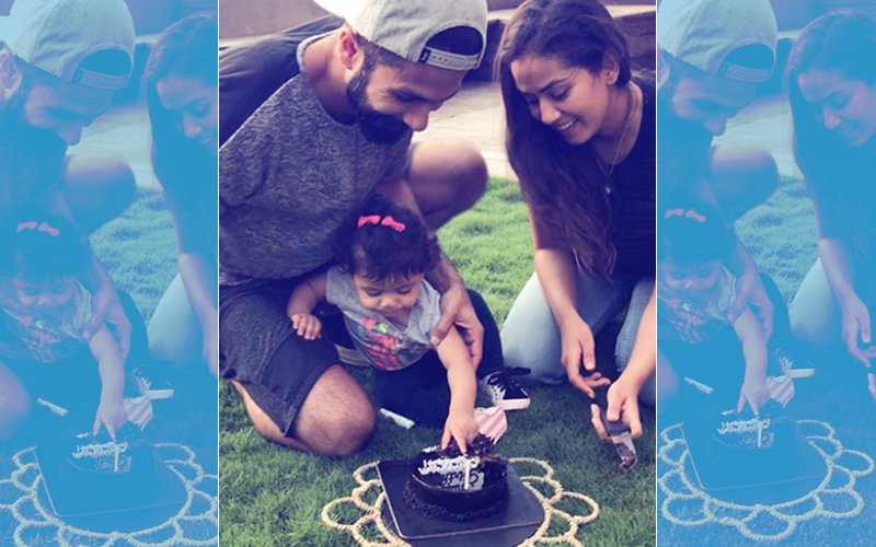 SEE PICS: Shahid Kapoor Celebrates Wife Mira Rajput's Birthday With Baby Misha