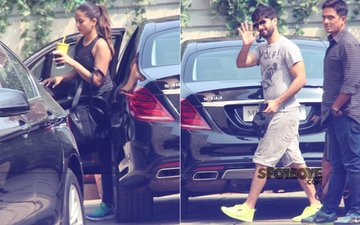 Mira Rajput & Her Darling Shahid Kapoor TONE UP Together
