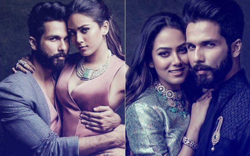 Shahid Kapoor & Mira Rajput's FIRST Photo Shoot Is All About LOVE & PASSION