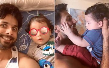 """Shahid Kapoor Reveals Baby Zain Is """"Way Better Looking"""" Than Him"""