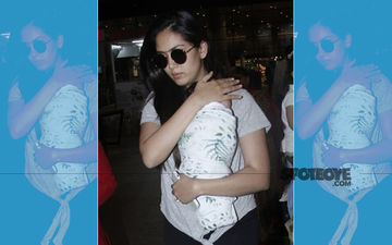 Shahid Kapoor's Wife Mira Rajput Snapped At The Airport With Little Zain