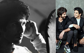 Shahid Kapoor Shares His First Look As Kabir Singh; Brother Ishaan Khatter Has Something To Say