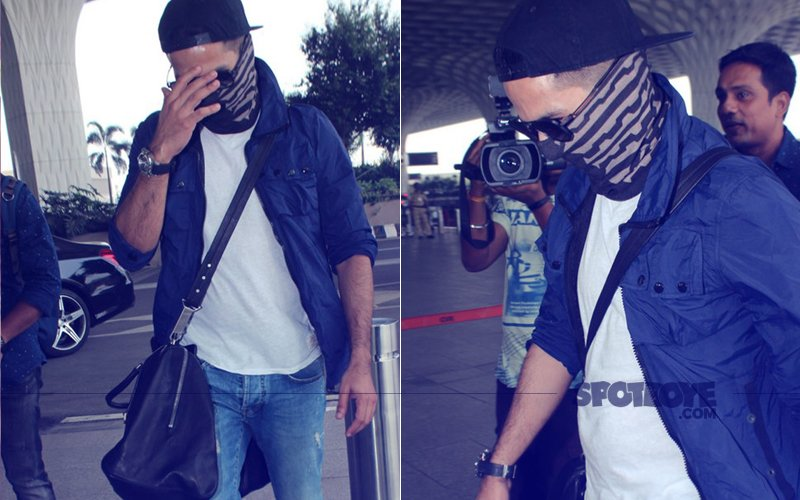 Has Shahid Kapoor SHAVED His HEAD & BEARD? Actor HIDES FACE At The Airport!