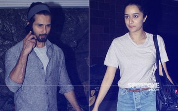 Shahid Kapoor & Shraddha Kapoor Start Script Reading Sessions For Batti Gul Meter Chalu