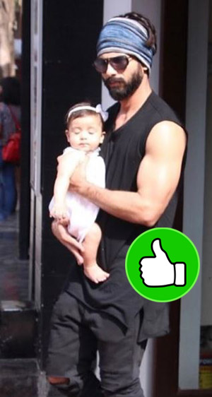 shahid kapoor looked like a super-cool dad when snapped with daughter misha in bandra