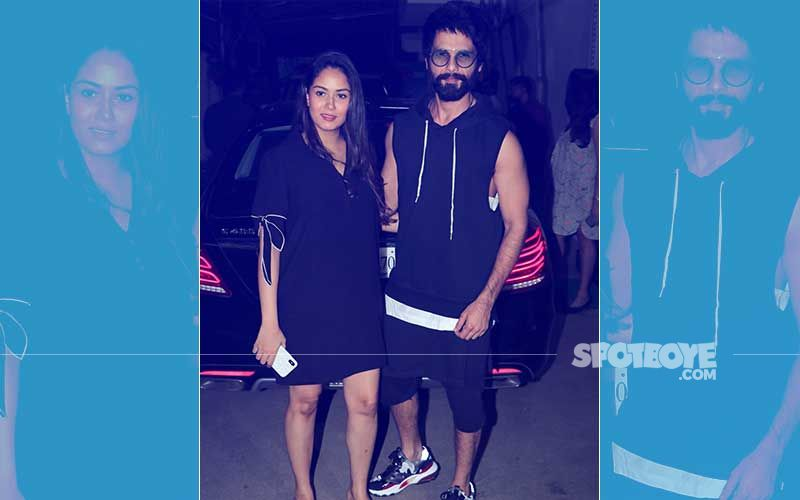 Shahid Kapoor & Mira Rajput's First Movie Date After Welcoming Zain- View Pics
