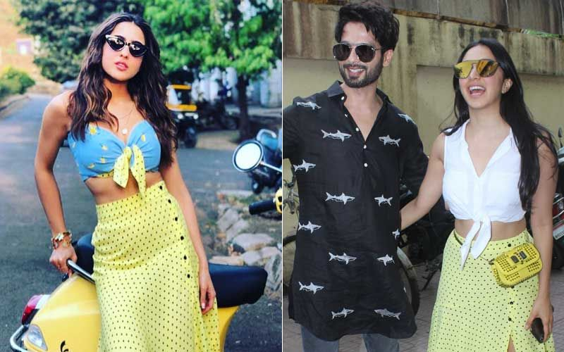 The Curious Case Of Kiara Advani And Sara Ali Khan's Yellow Polka Dot Skirt