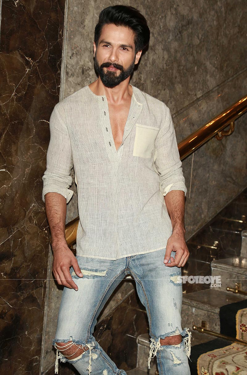 shahid kapoor to act in a movie having a social message