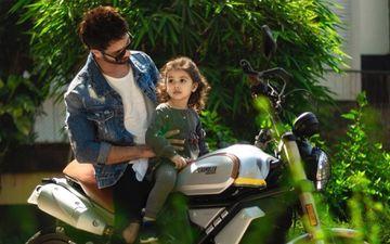 शाहिद कपूर की बाइक के आगे बैठी बेटी मिशा की ये तस्वीर आपका दिल छू लेगी