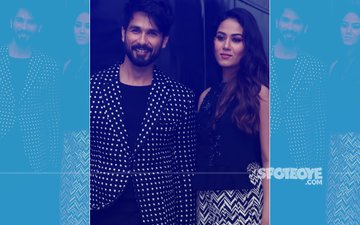 Mira Rajput & Shahid Kapoor Look SPLENDID In Black & White Numbers