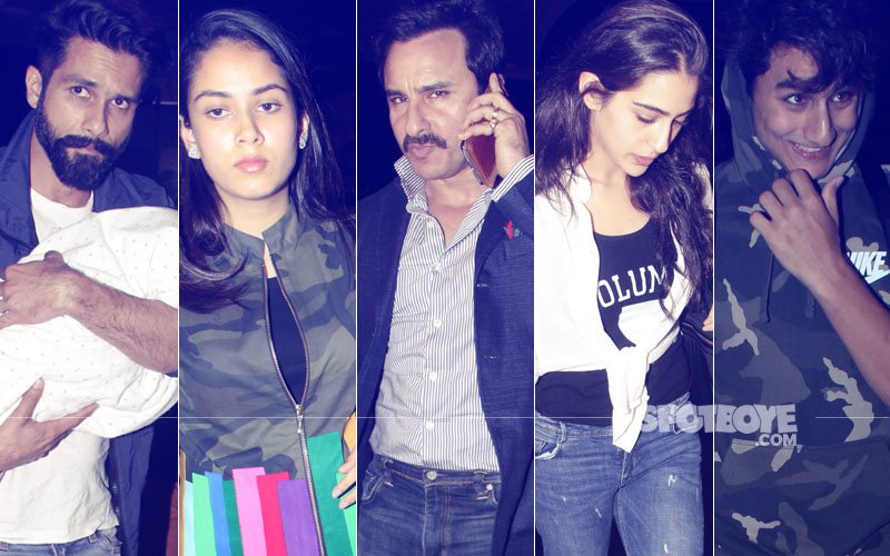 IIFA 2017: Shahid Kapoor-Mira Rajput, Saif Ali Khan With Sara & Ibrahim Fly To New York