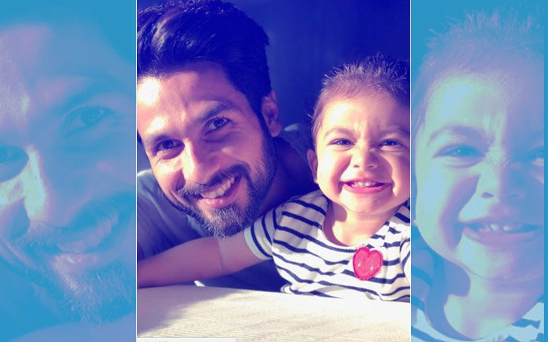 It's A 'Happy Sunday' For Li'l Misha & Daddy Shahid Kapoor