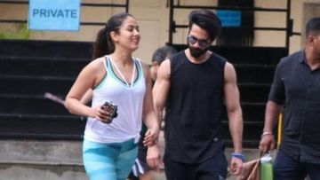 Coronavirus Lockdown: After BMC Seals Their Gym Mira Rajput And Shahid Kapoor Connect With Their Trainer Via Video Call