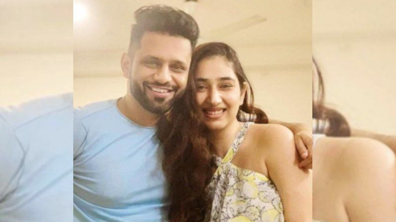 Rahul Vaidya Gets All Romantic In Slow Motion Video With GF Disha Parmar; Thanks Fans For Showering Love On Madhanya