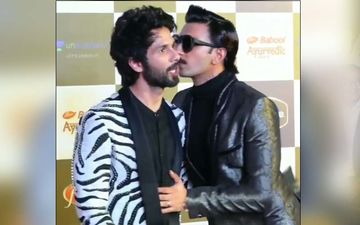 Shahid Kapoor Leaves Awards Show In A Fit Of Anger After Trophy Promised To Him Is Handed To Ranveer Singh?