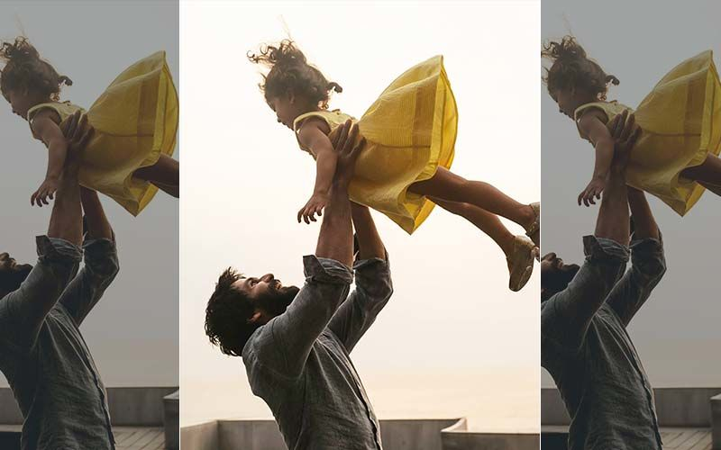 Shahid Kapoor Is Beaming With Love In This Never-Seen-Before Pic Holding Misha Up In The Air, Fans Call It 'Love Defying Gravity'