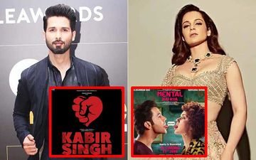 Shahid Kapoor And Kangana Ranaut Cross Paths Again: It's Kabir Singh Vs Mental Hai Kya On June 21