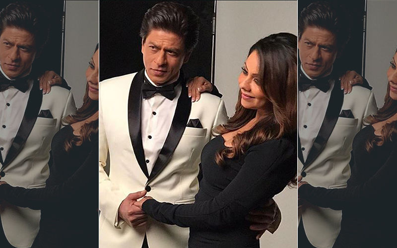 """Gauri Khan Heaps Praises On Hubby Shah Rukh Khan; Says, """"There Are Only Positives Being His Wife"""""""