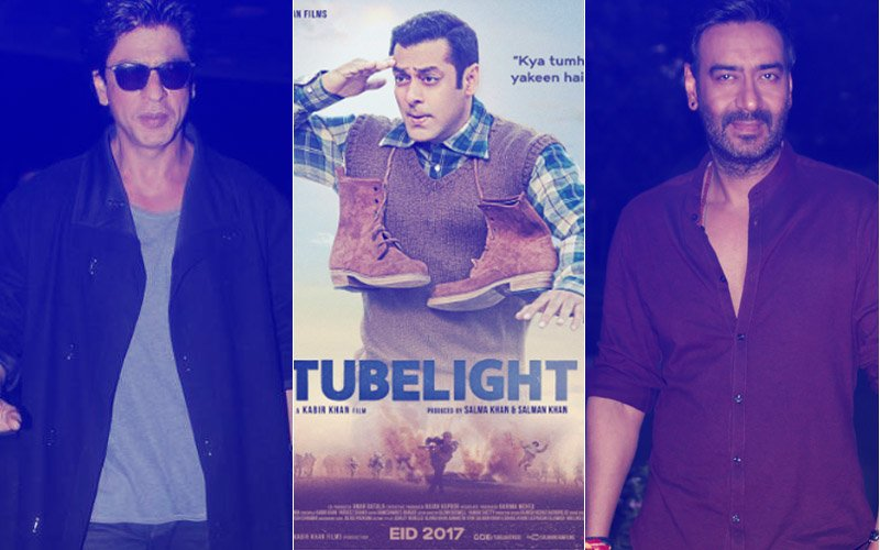 Shah Rukh Khan's Untitled Next & Ajay Devgn's Baadshaho Trailer To Be Attached With Salman Khan's Tubelight
