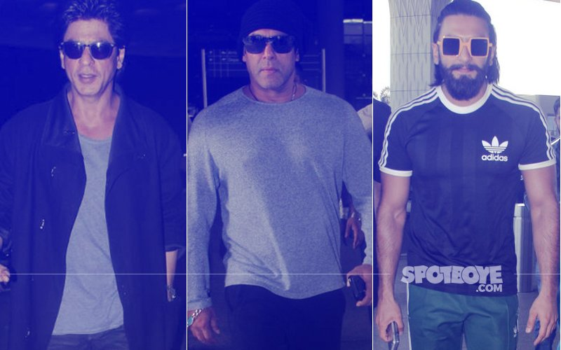 TRAVEL VOGUE: Shah Rukh Khan, Salman Khan, Ranveer Singh Keep It Cool