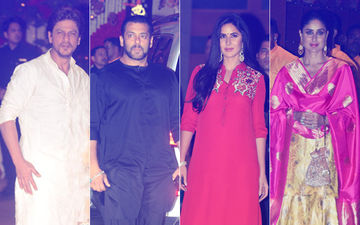 Ambani Ganpati 2018 Celebrations: Shah Rukh Khan, Salman Khan, Katrina Kaif, Kareena Kapoor Khan Seek Bappa's Blessing