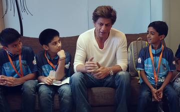 शाहरुख खान ने कैंसर को मात देने वाले बहादुर बच्चों से की मुलाक़ात!