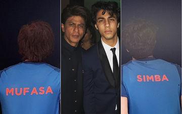 India Vs Pakistan, World Cup 2019: शाहरुख खान और उनके बेटे आर्यन बेसब्री से कर रहे हैं मैच का इंतज़ार, सोशल मीडिया पर शेयर की तस्वीर