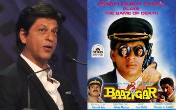 शाहरुख खान की फिल्म 'बाजीगर' के पूरे किये 25 साल, किंग खान ने कही बड़ी बात