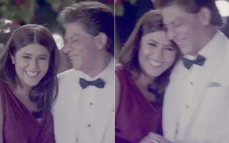 खुल्लम-खुल्ला एकता कपूर ने शाहरुख़ खान से किया अपने प्यार का इजहार, कह डाला– I Love You