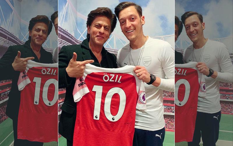 शाहरुख खान ने अपने बड़े प्रशंसक मेसुत ओज़िल का निमंत्रण किया स्वीकार