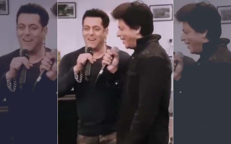 हर काम को रोक कर देखिये सलमान खान और शाहरुख खान का ये वीडियो, प्यार ने इन्हें किस मोड़ पर ला खड़ा कर दिया है