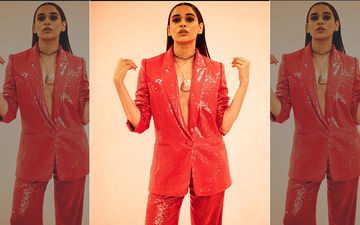 Shalmali Kholgade's Hot Red Dazzling Attire For IIFA Award 2019 Flaunts Just Enough To Make You Swoon