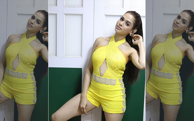 Shalmali Shows You How To Flaunt Those Curves In A Halter Neck Romper