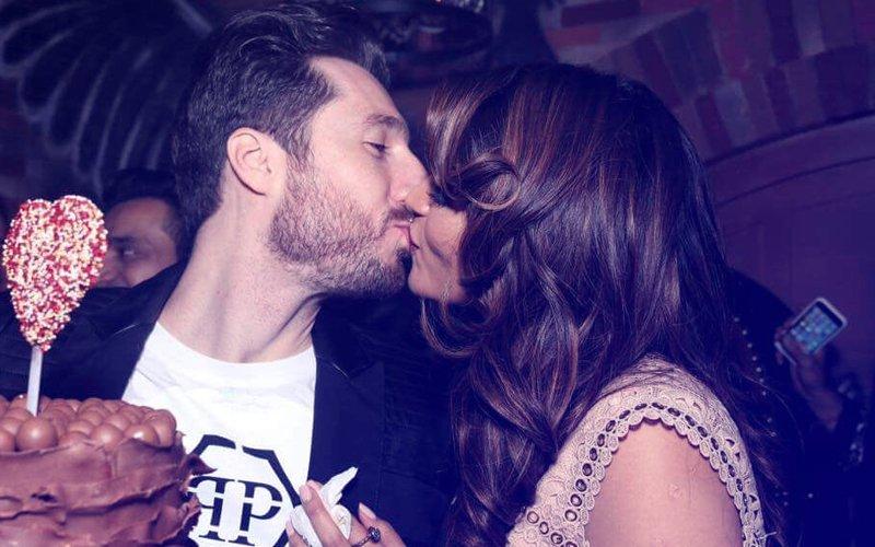 Scintillating Sunday: Shama Sikander's PASSIONATE KISS With Boyfriend James Milliron