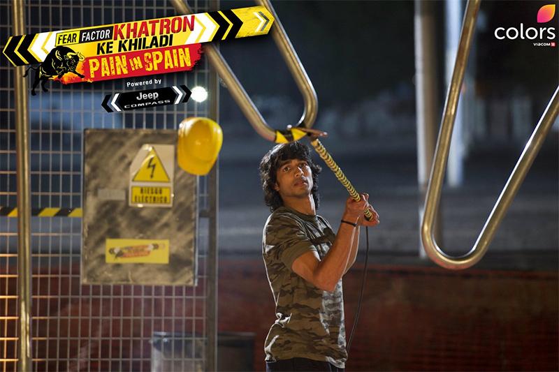 shantanu maheshwari in fear factor khatron ke khiladi pain in spain