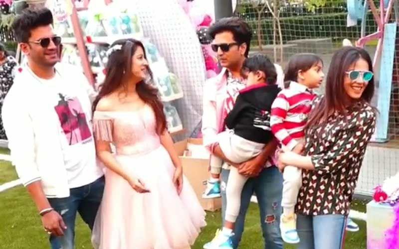 Sharad Kelkar's Daughter Kesha's BDay Bash INSIDE VIDEO: Jay Bhanushali, Riteish Deshmukh, Maniesh Paul Turn Kids