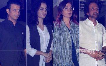Neeraj Vora Prayer Meet: Sharman Joshi, Elli Avram, Pooja Bhatt, Kay Kay Menon Pay Respect