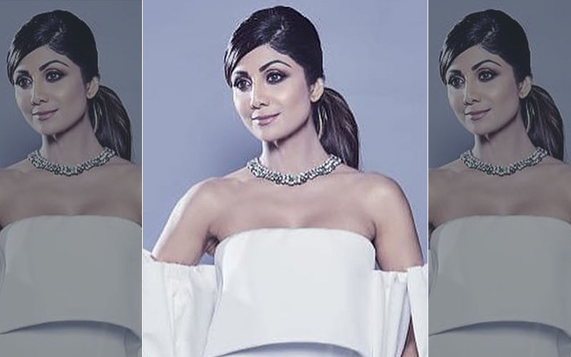 Naughty But Nice (Angelic), That Was Shilpa Shetty's Vibe In This Stunning White Gown!