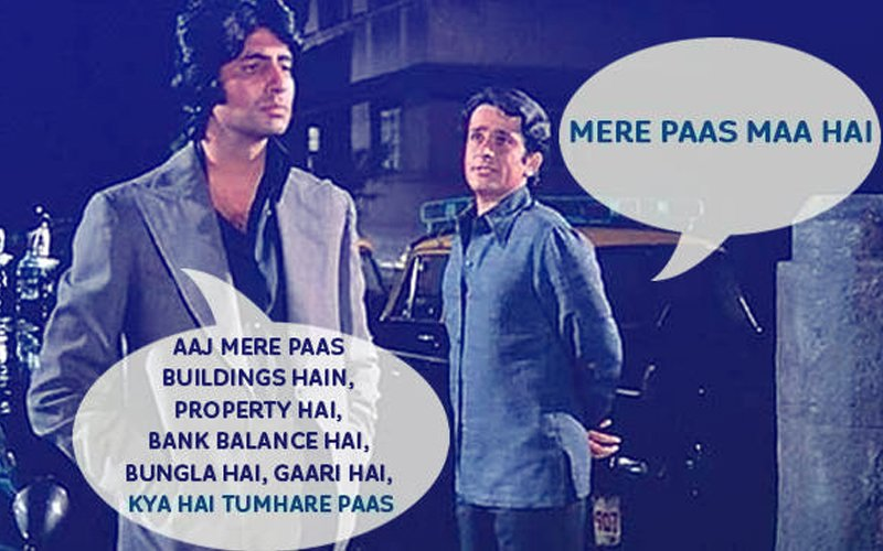 """""""Mere Paas Maa Hai,"""" This Shashi Kapoor Dialogue From Deewar Will Stay With Us Forever"""