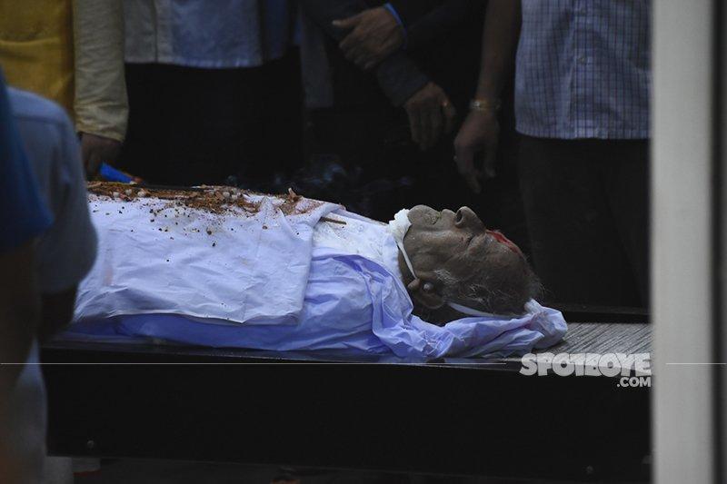 shashi kapoor final dead body