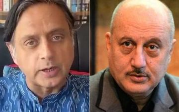 Shashi Tharoor Quotes Anupam Kher's 2012 Tweet On Patriotism; Latter Calls It Proof Of The Politician's 'Unemployment'