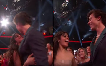 Camila Cabello Snubbed By Boyfriend Shawn Mendes As She Reaches Out For A Kiss At AMAs – Watch Video