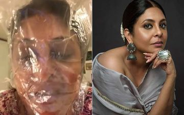 Shefali Shah Tightly Covers Face In Plastic Wrap, Gasps For Air: 'If COVID-19 Spreads, Many Won't Be Able To Breathe'- VIDEO