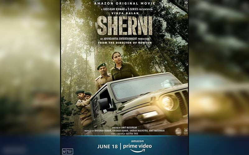 Sherni New Poster OUT:: Vidya Balan Leads The Way For Us To The Release Day, With A New Still